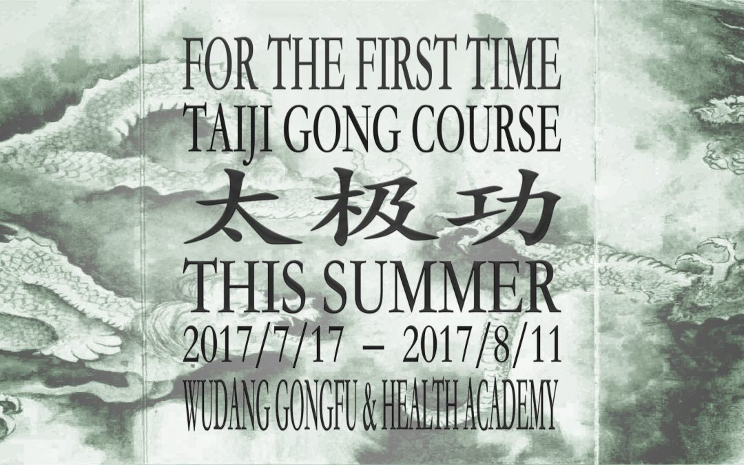 TaiJi Gong Summer Course